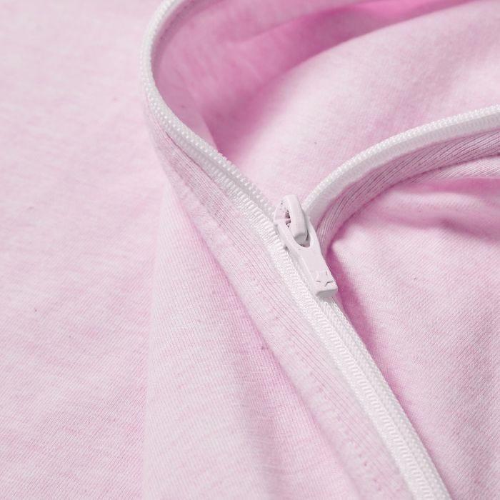 The Original Grobag Pink Marl Snuggle zip