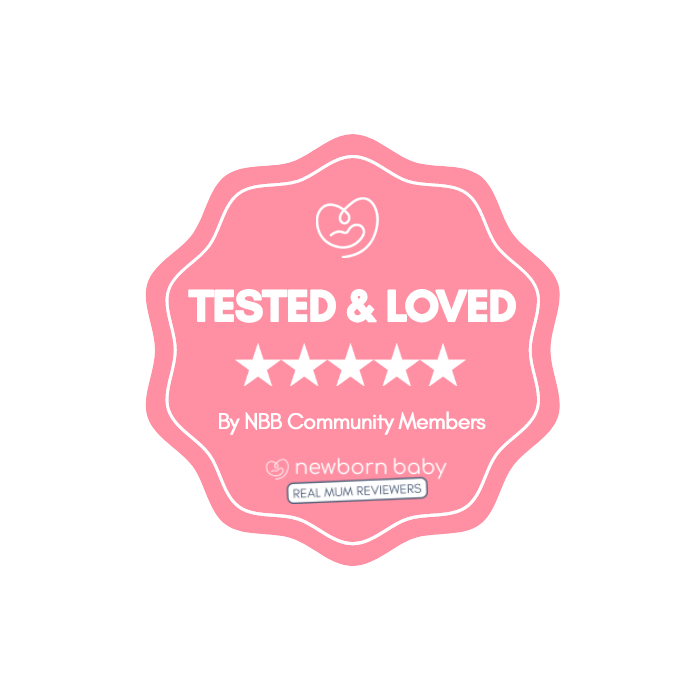 Tested and Loved by Newborn Baby Community Members Award