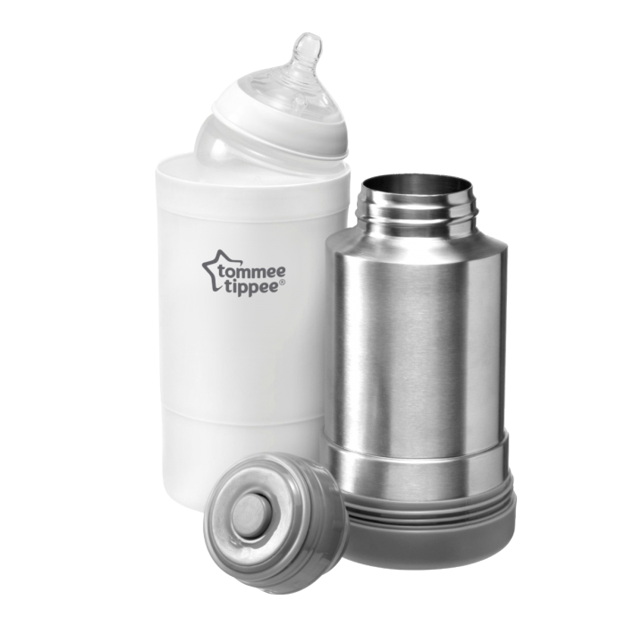 Travel-Bottle-and-Food-Warmer-with-Tommee-Tippee-bottle-in-Food-Warmer