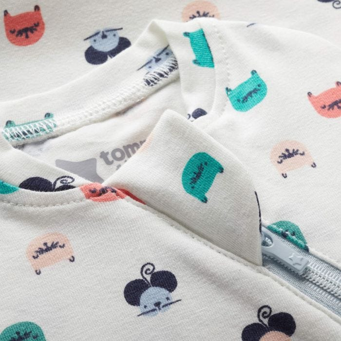 Cat and Mouse Easy Swaddle zip covering