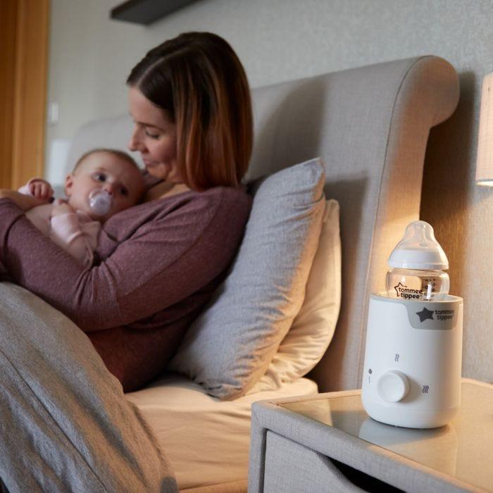 easi warm and baby bottle mum feeding