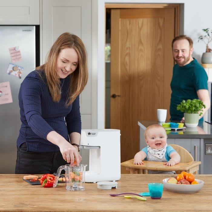 Quick-Cook Baby Food Maker Lifestyle