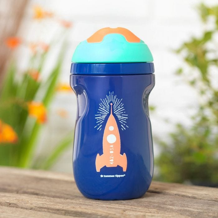 Blue Insulated Sippee Cup