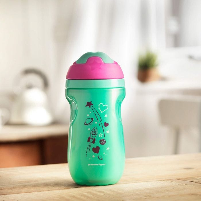 Green Insulated Sipper Cup