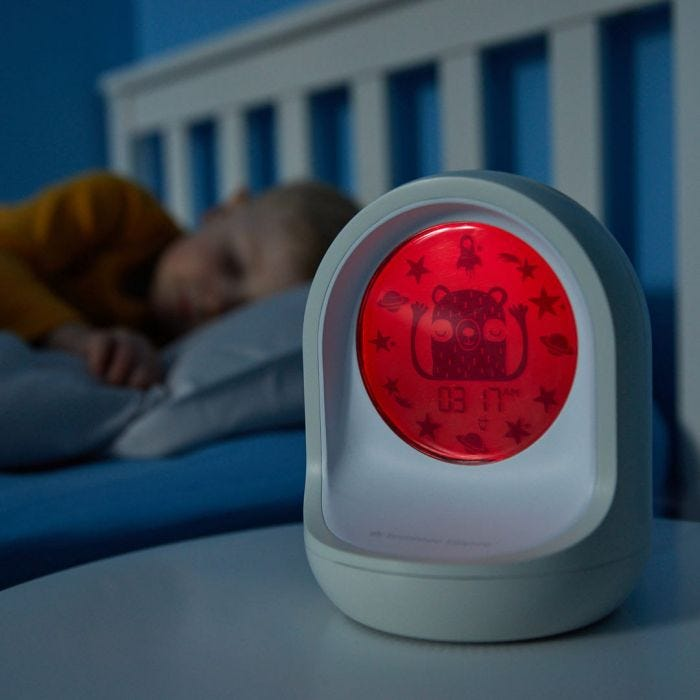 Child sleeping with Connect Sleep Trainer