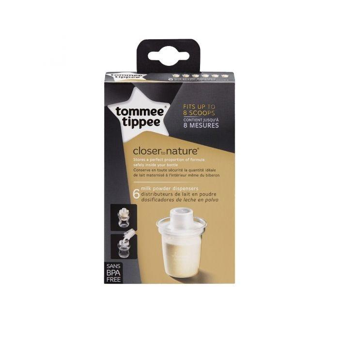 Formula Dispensers - 6 pack packaging