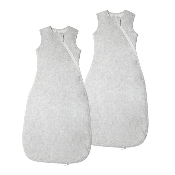 Grobag Sleepbag Grey Marl 2 pack
