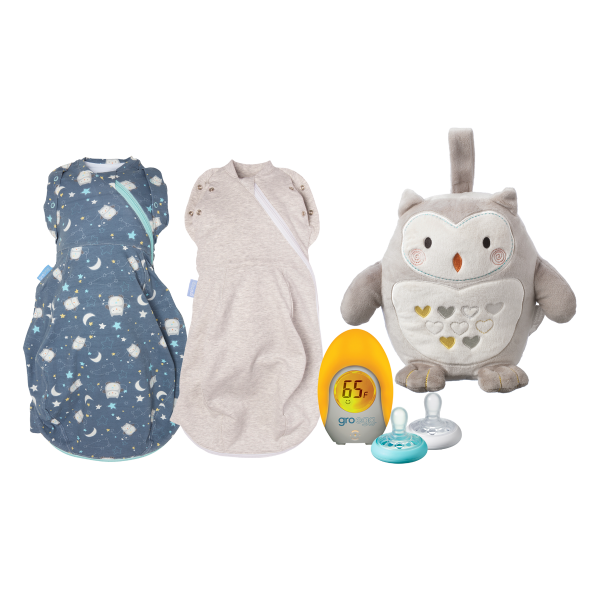 Newborn Swaddle & Soothe Bundle
