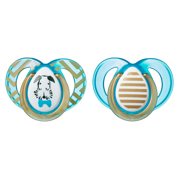 Moda Soothers, blue (18-36 months) - 2 pack