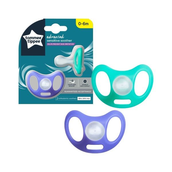 Advanced Sensitive Soother (0-6 months) - 2 pack