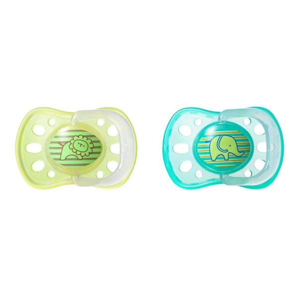 Soft Rim Latex Soother (6-18 months) - 2 pack