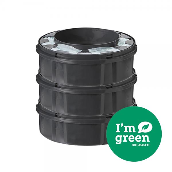 Twist & Click Nappy Disposal Bin Refills - 3 pack