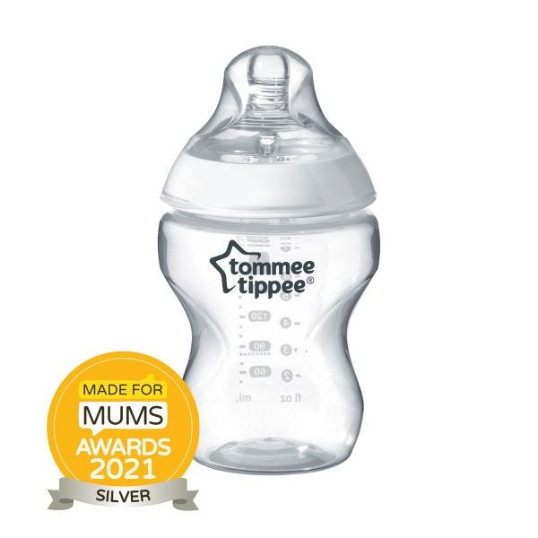 Closer to Nature Baby Bottle - 260ml - 1 Pack