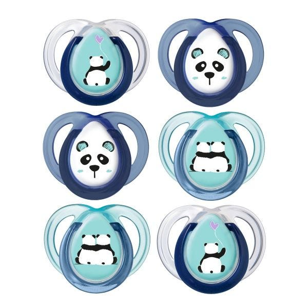 Anytime Soother (0-6months) - 6 pack
