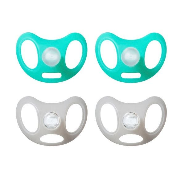 Advanced Sensitive Soother, 0-6 months - 4 pack
