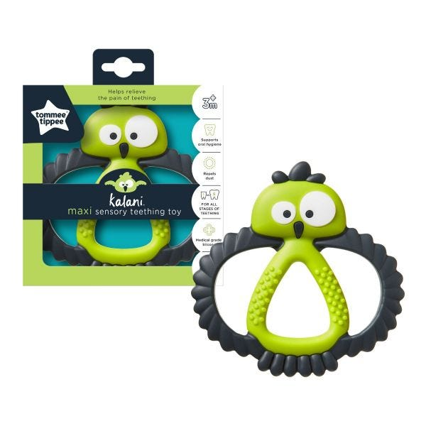 Kalani Maxi Sensory Teething Toy - green
