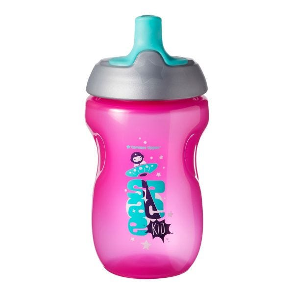 Active Sports Bottle, Pink (12 Months+)