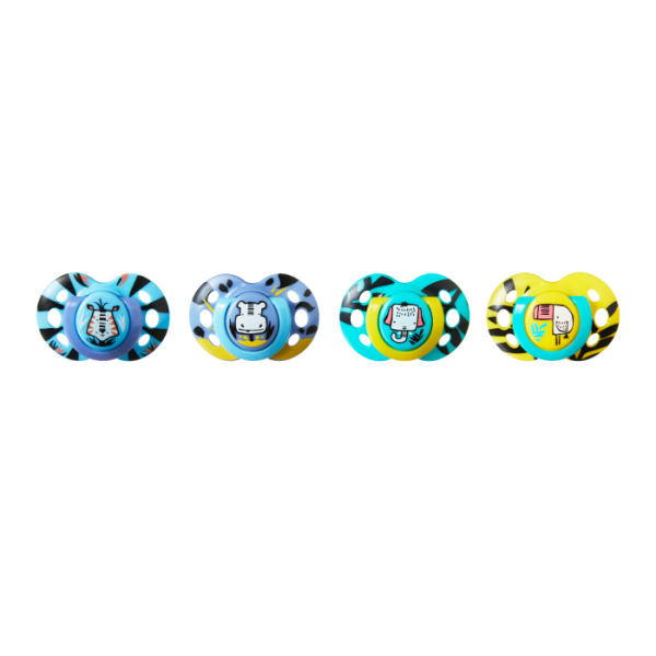 Fun Style Pacifier (6-18 months) - 4 Pack