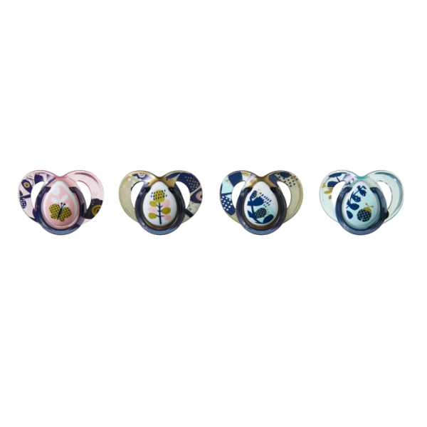 Moda Pacifiers (6-18 Months) - 4 pack