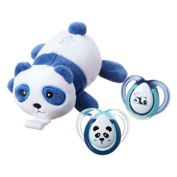 Panda Paci Snuggie Stuffed Animal