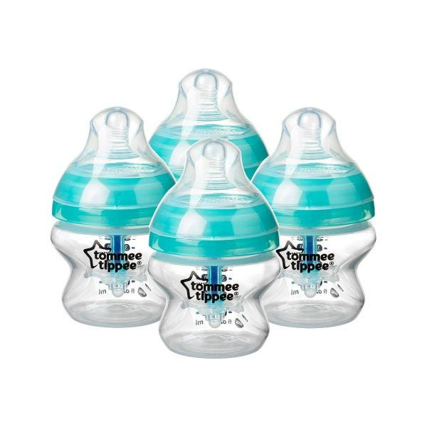 Advanced Anti-Colic Baby Bottles - 5oz - 4 Pack
