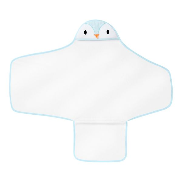 Percy the Penguin Swaddle Dry Towel (0-6 months)