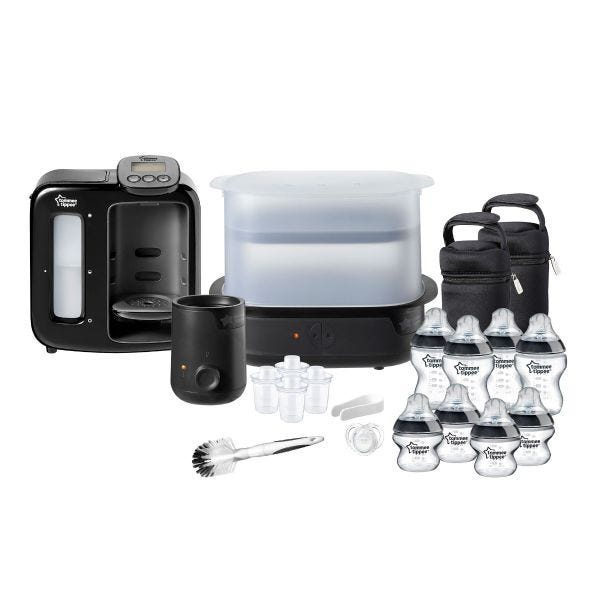 Complete Bottle Feeding Bundle, black