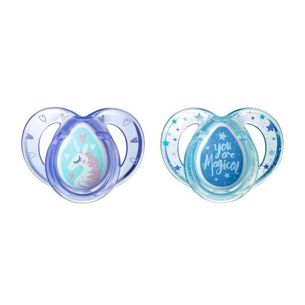 Everyday Unicorn Pacifiers (6-18 months) - 2 pack