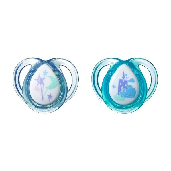 Everyday Castle Pacifiers (0-6 months) - 2 pack