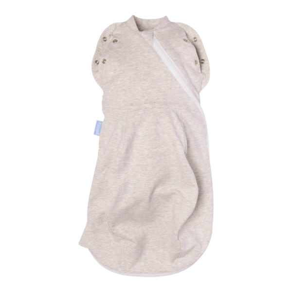Grey Marl Newborn Grosnug Swaddle (Cozy/Light)