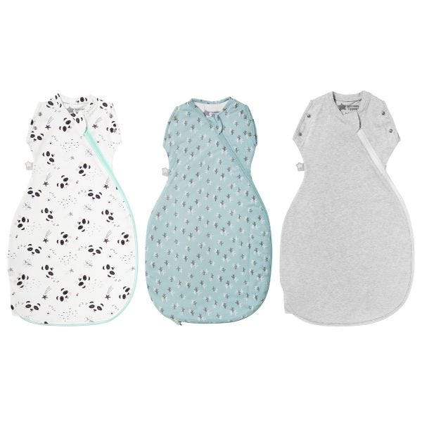 Little Nature Lover 3-9 month Summer Snuggle - 3 pack
