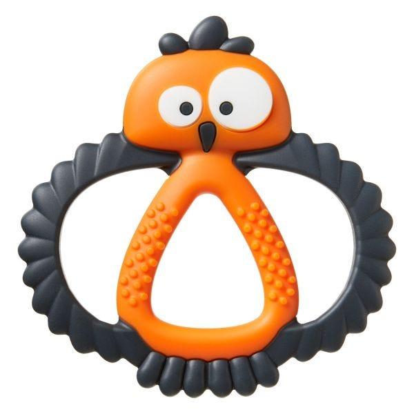 Kalani Maxi Sensory Teething Toy - Orange