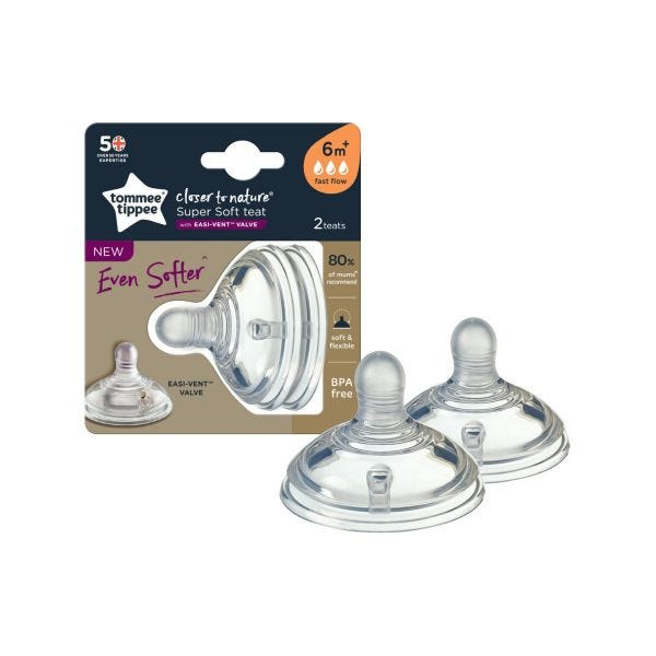 Tommee Tippee Closer to Nature Super Soft Teats