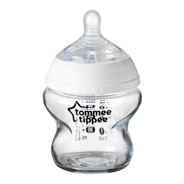 Closer to Nature Glass Baby Bottle - 150ml - 1 Pack