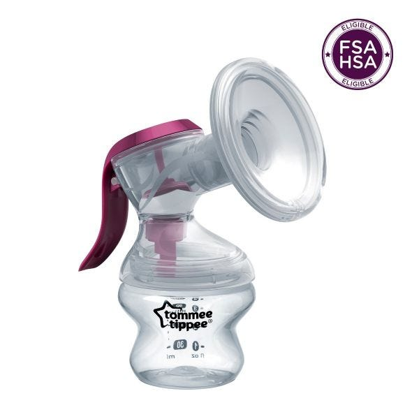 Made for Me Single Manual Breast Pump