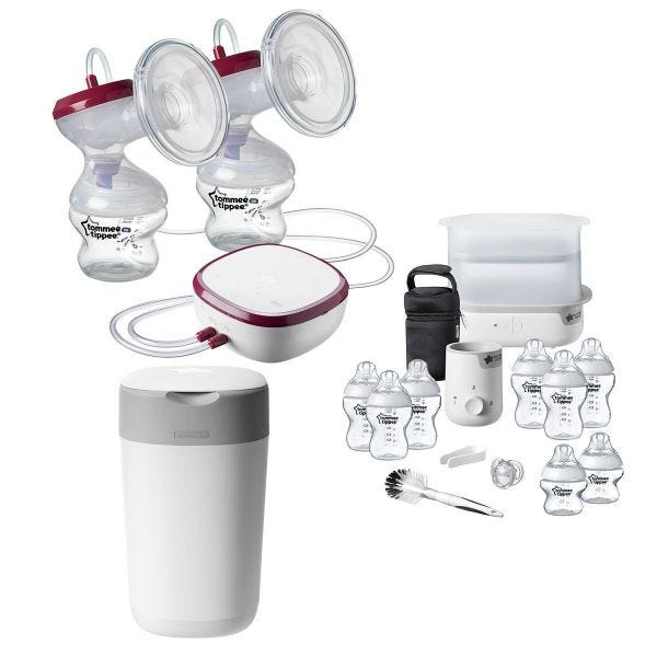 Double Breast Pump Complete Feed & Change Bundle