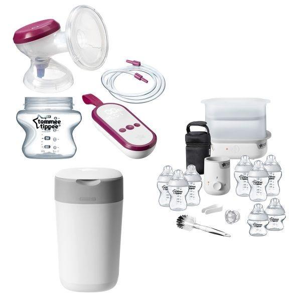 Single Electric Breast Pump Complete Feed & Change Bundle