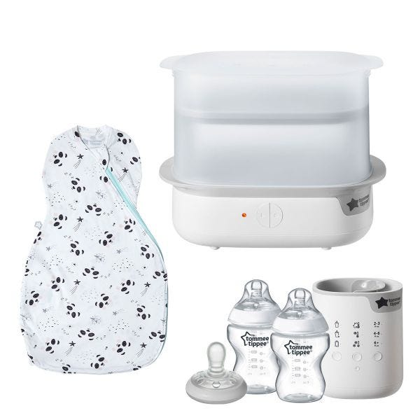Newborn Complete Starter Bundle - Bottle Feeding