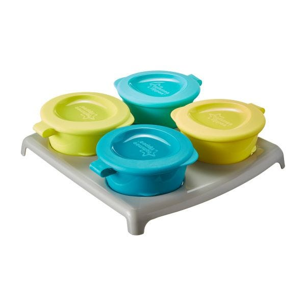 Pop Up Freezer Pots and Tray