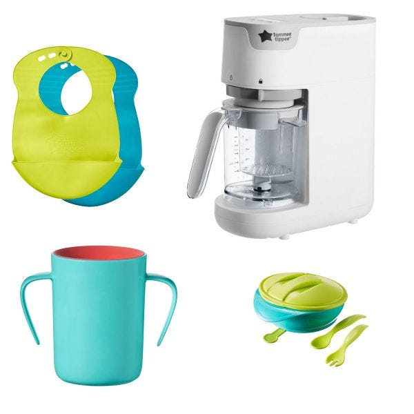 No-mess, Essential Mealtime Bundle