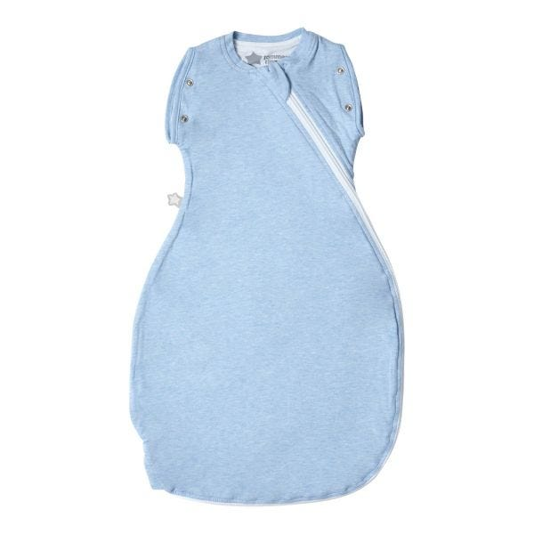 The Original Grobag Blue Marl Snuggle 0-4m 1.0 Tog