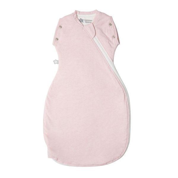 Sleepee Snuggee, Pink Marl, 1.0 Tog - 0-4 months