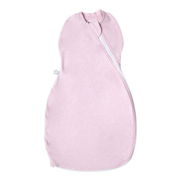 The Original Grobag Pink Marl Easy Swaddle 0-3m
