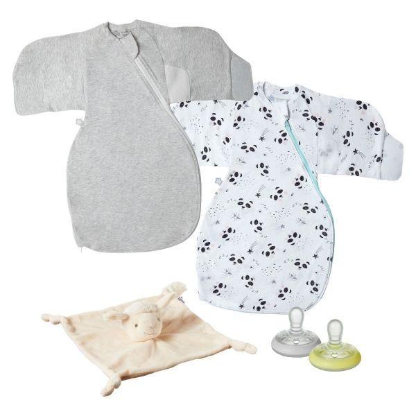 Swaddle Wrap (0-3 months) Bedtime Bundle
