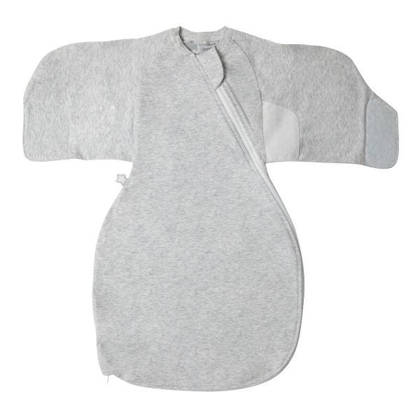 The Original Grobag  Grey Marl Swaddle Wrap 0-3m