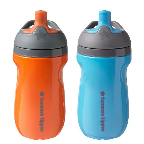 Insulated Sportee, blue, orange - 2 pack