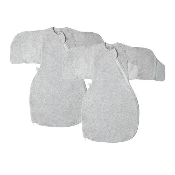 The Original Grobag Swaddle Wrap Twin Pack 0-3m