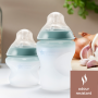 Closer to Nature Silicone bottles  odour resistant