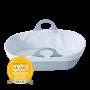 Sleepee moses basket with awards roundal