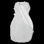 Grey Marl snuggee zip open